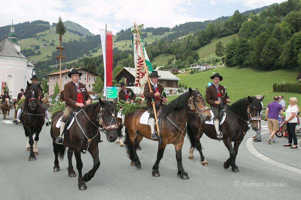 Fronleichnamsprozession und Antlassritt in Brixen im Thale - 31.05.2018