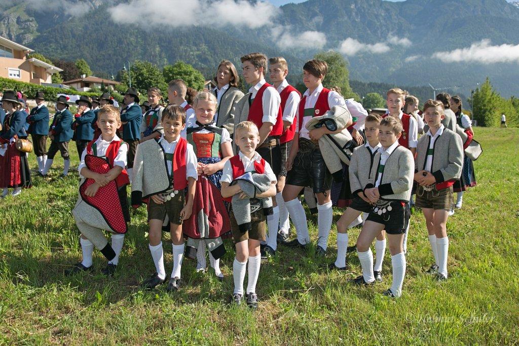 Bezirkstrachtenfest Innsbruck-Stadt und -Land in Rum - 03.06.2018